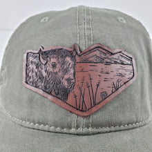"Load image into Gallery viewer, ""Yellowstone"" Artist Series brushed Canvas Hat"