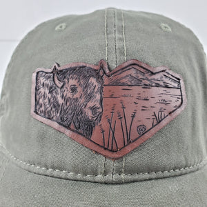 """Yellowstone"" Artist Series brushed Canvas Hat"