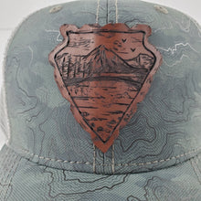 "Load image into Gallery viewer, ""Reflection"" Artist Series Trucker Snapback Hat"
