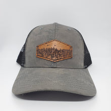"Load image into Gallery viewer, ""High pines"" Artist Series Trucker Snapback Hat"