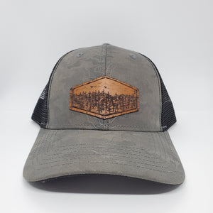 """High pines"" Artist Series Trucker Snapback Hat"