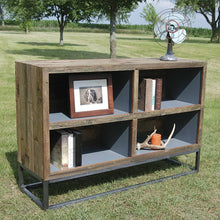 Load image into Gallery viewer, Reclaimed Shelf / Media Center
