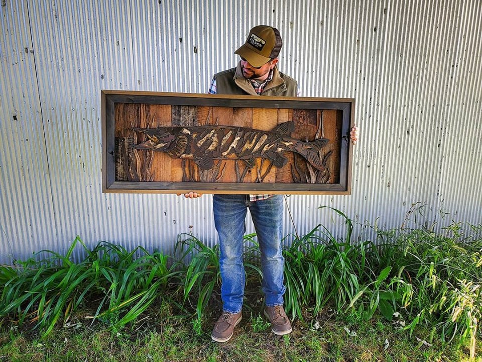 Rustic Metal Art