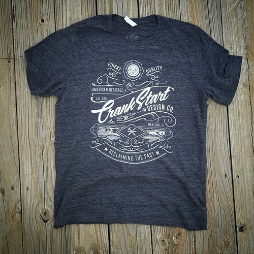 CrankStart Design Co. T-shirt