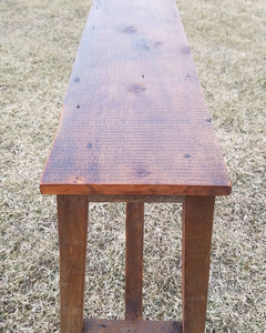 Reclaimed Entry / Sofa table