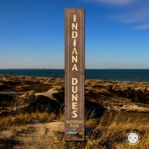 Rustic National Park Signs