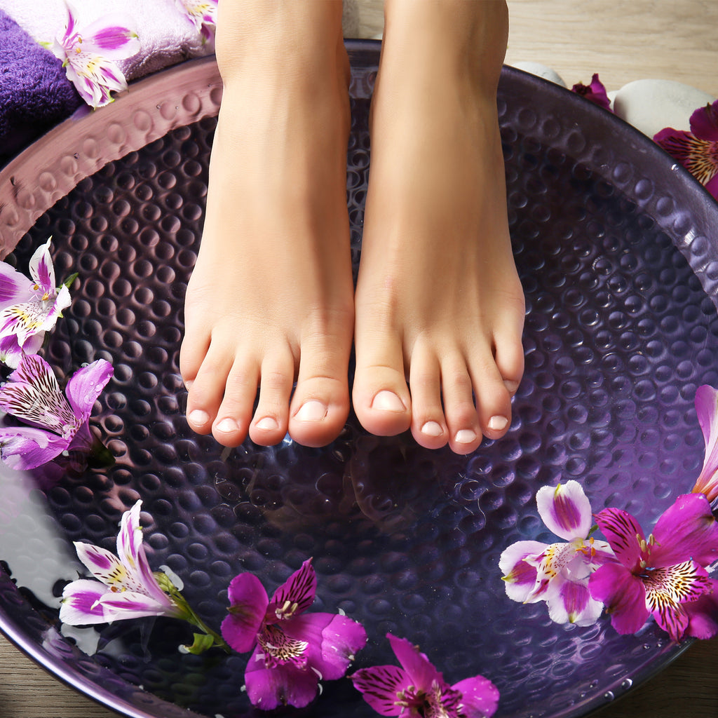 fresh feet collection using certified organic ingredients and pure essential oils