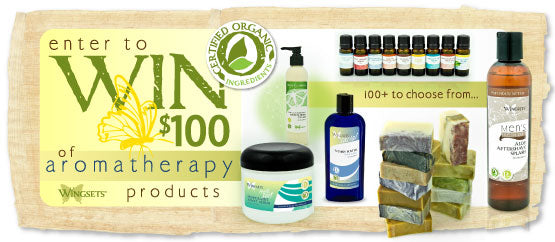 $100 worth of aromatherapy product giveaway