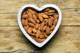 eat 15 almonds a day for heart and eye health