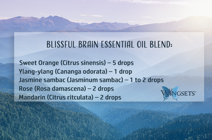 blissful brain essential oil blend recipe and why we used these essential oils