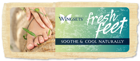 sooth, cool and clean your feet naturally