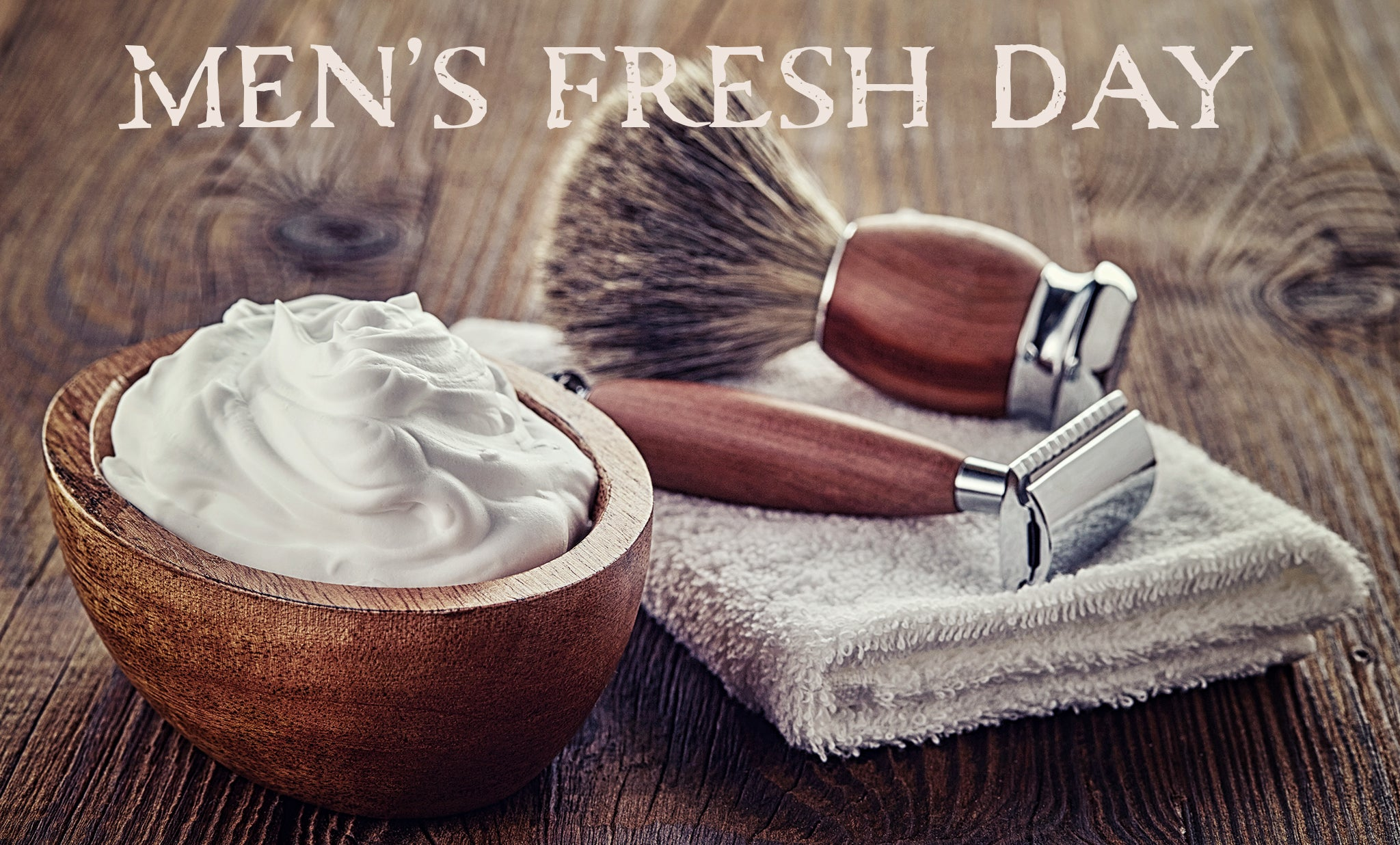 men's fresh day organic skin care by Wingsets