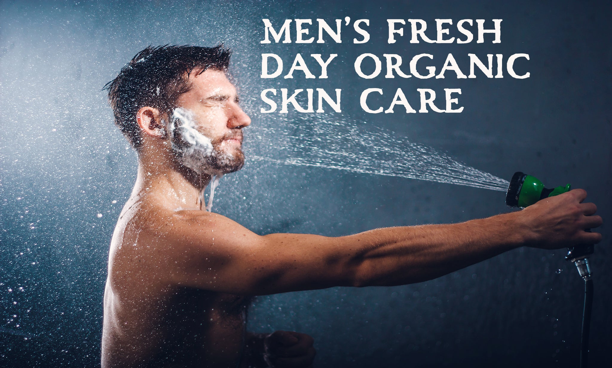men's organic skin care natural products