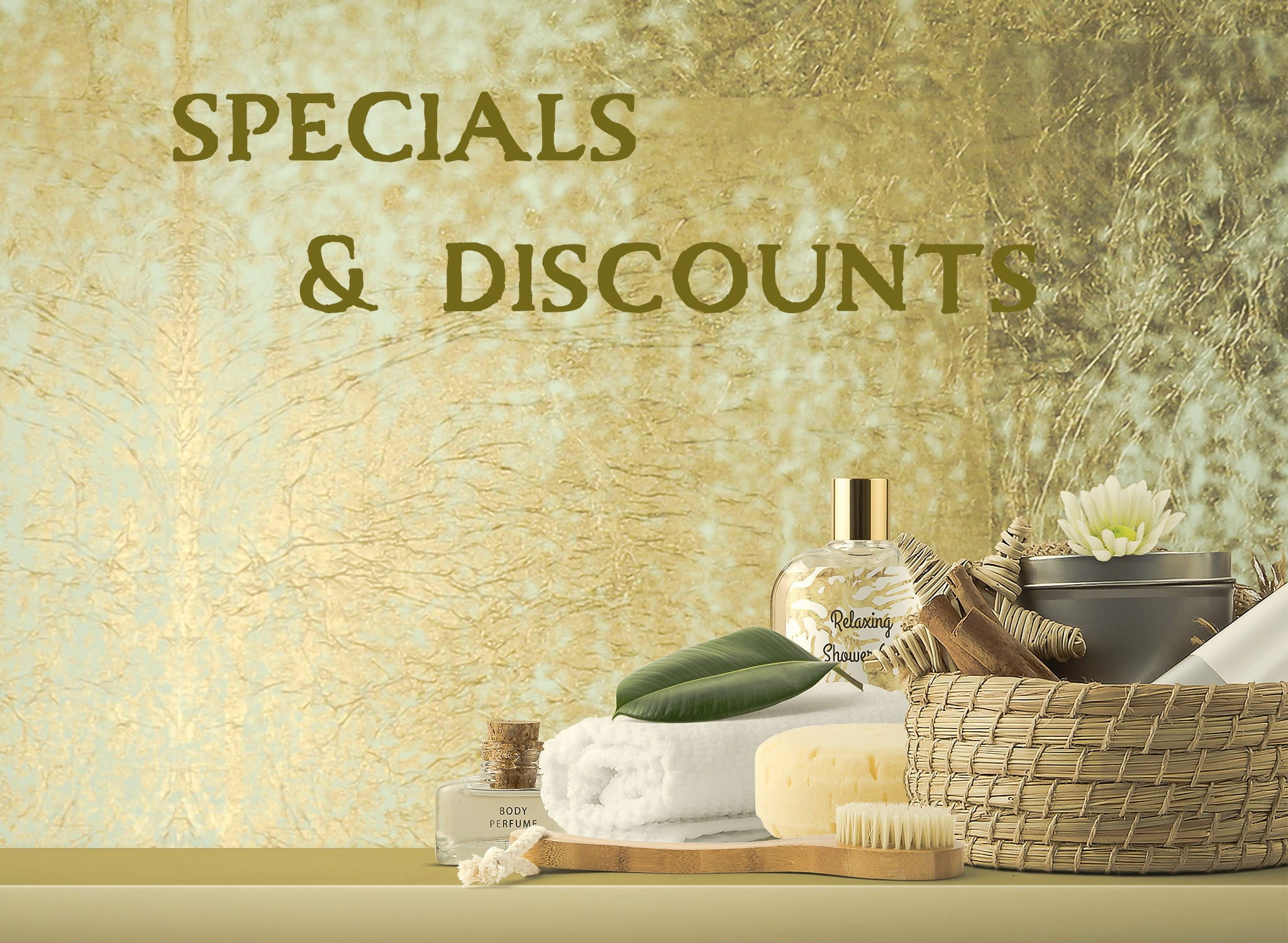 specials and discounted items at Wingsets Aromatherapy