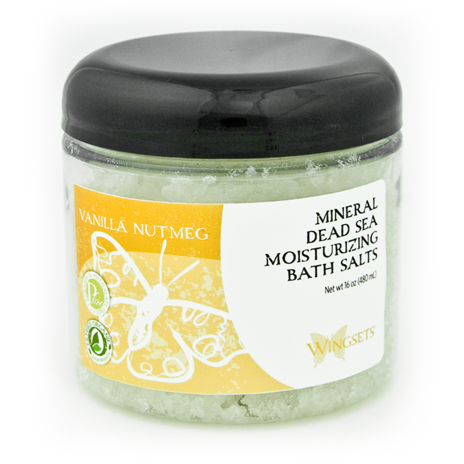 Vanilla and Ylang Ylang essential oils infused in the highest quality bathing salts