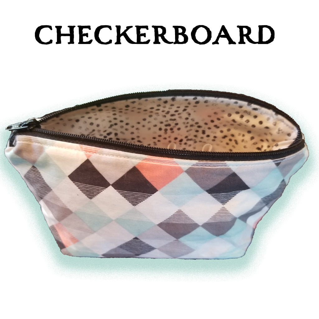Essential Oil Carrying Cases - Checkerboard