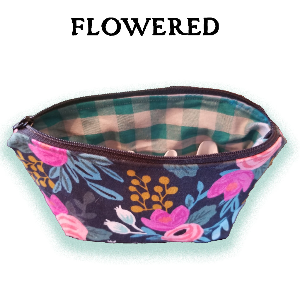 Essential Oil Carrying Cases - Flowered - SOLD