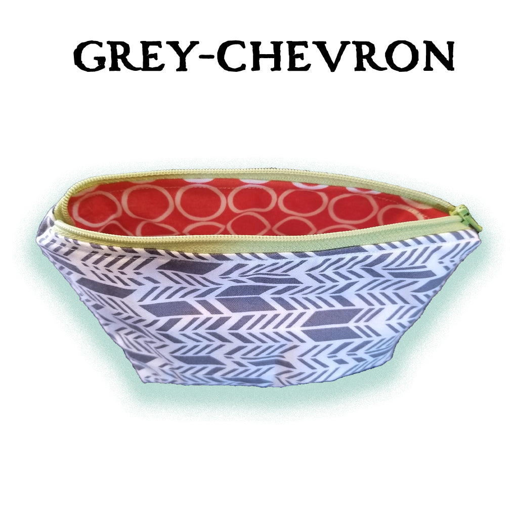 Essential Oil Carrying Cases - Grey Chevron