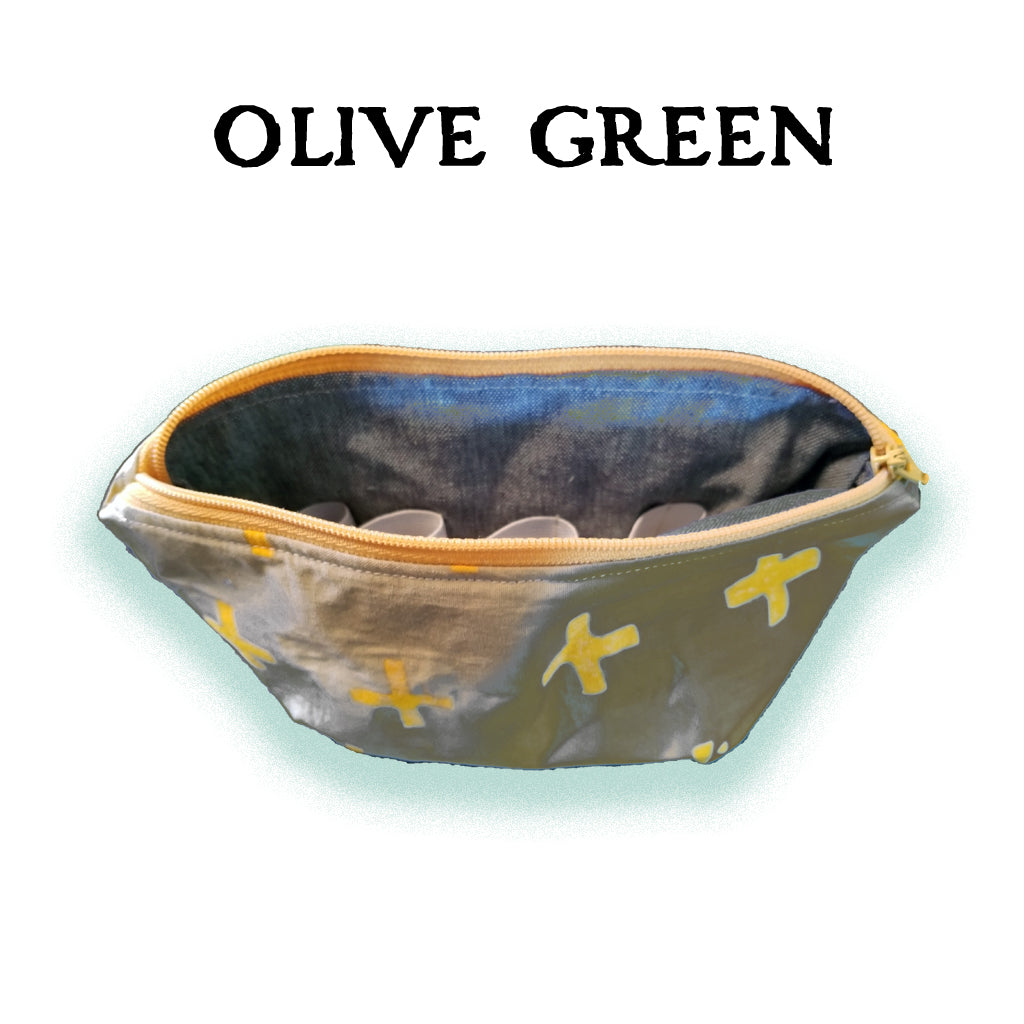 Essential Oil Carrying Cases - Olive Green