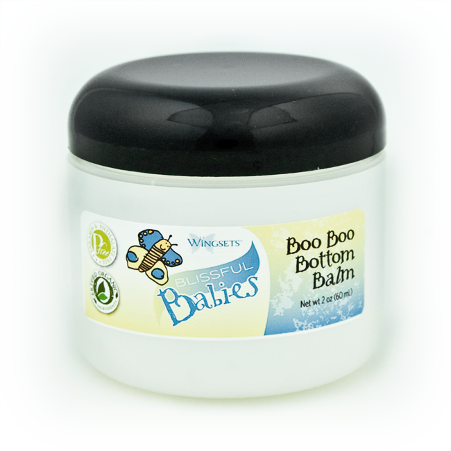 Blissful Babies Boo Boo Bottom Balm - 99% certified organic ingredients