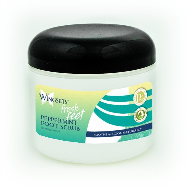 Fresh Feet Peppermint Foot Scrub