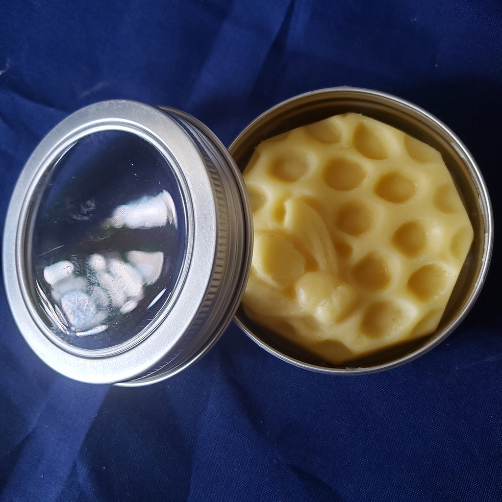 organic luxury lotion bar with certified organic ingredients, shea, mango, coconut oil