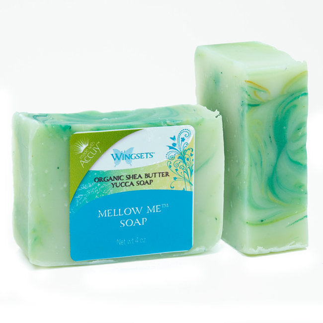 mellow me aromatherapy shea butter handmade soap 100% organic