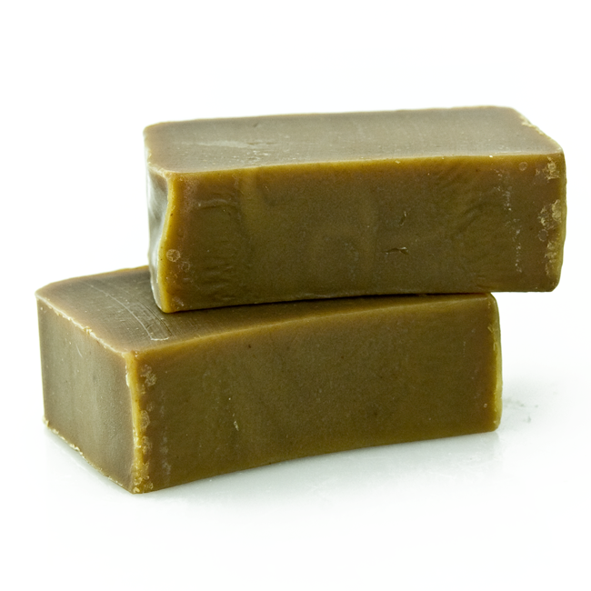 Handcrafted Oakmoss & Olive Leaf Soap - Organic Ingredients