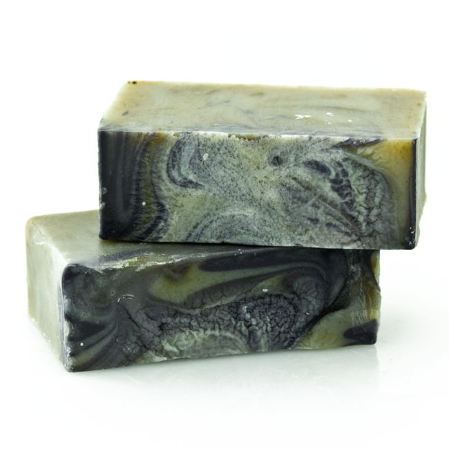 handmade soap with certified organic shea butter and lavender for babies