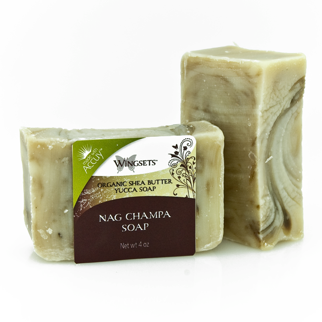 Handcrafted Nag Champa Soap - Organic Ingredients