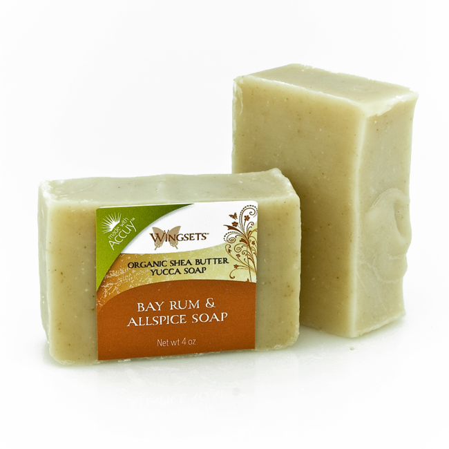 Hand-crafted Bay Rum & Allspice Soap