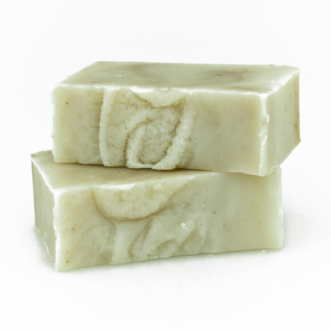calendula and chamomile soap for babies with certified organic ingredients of shea butter, coconut oil and extra virgin olive oil infused with certified organic flowers of calendula, chamomile and helichrysum