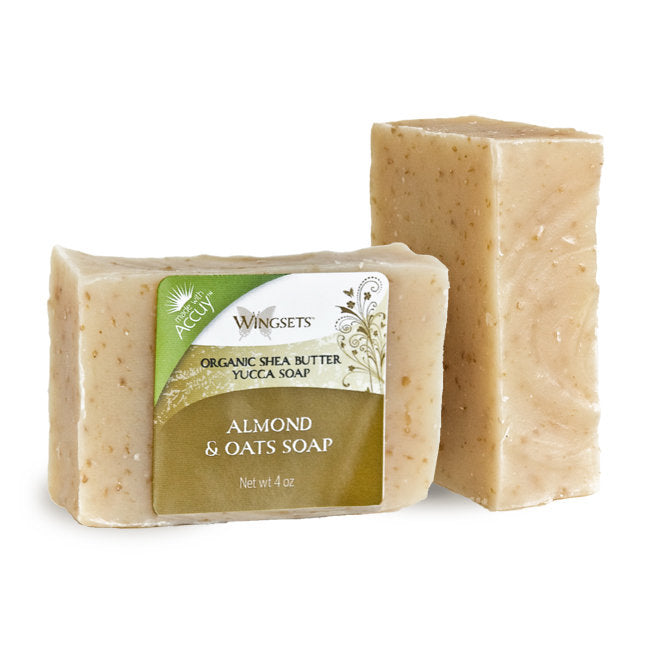 Handcrafted Almond & Oats Soap - Organic Ingredients