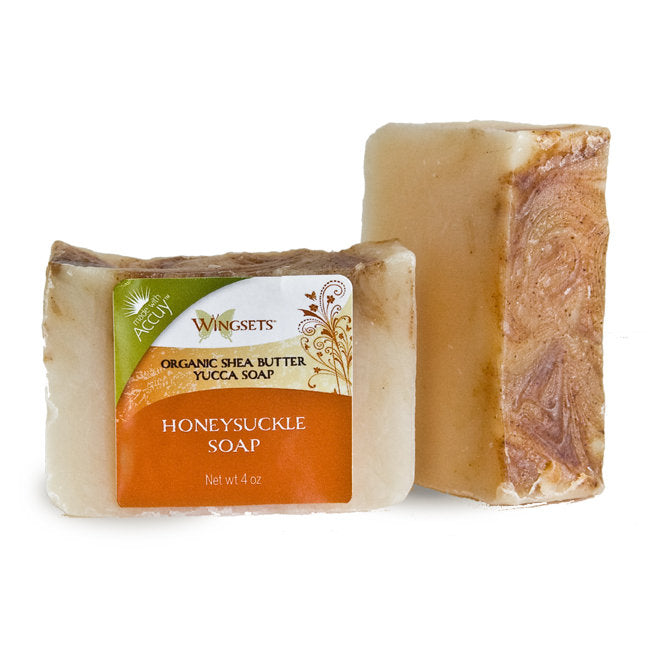 Handcrafted Honeysuckle Soap - Organic Ingredients