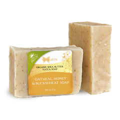 Organic Oatmeal, Honey & Buckwheat Soap