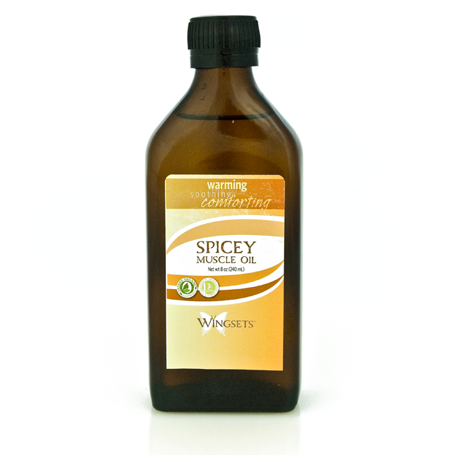 Spicey Muscle Oil - Warm, Soothing, Comforting