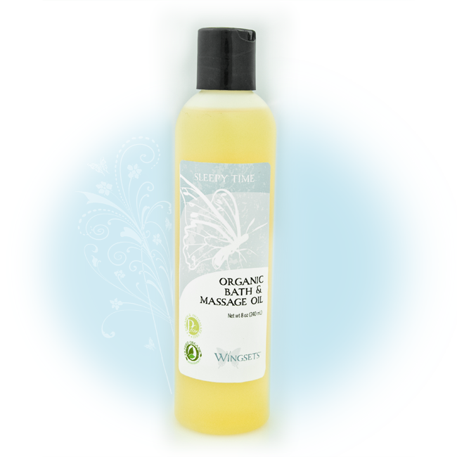 Women's Organic Bath & Massage Oil