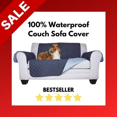 100% Waterproof Couch Sofa Cover TWO SEATER