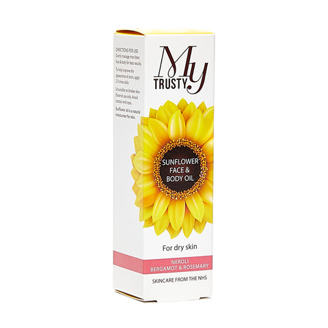 My Trusty Sunflower Face & Body Oil 50mL