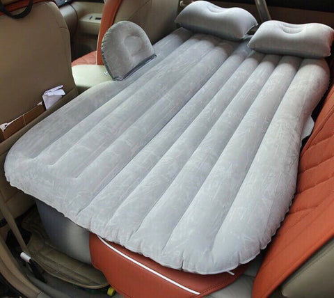 Car Inflatable Air Mattress Travel Bed with Pump