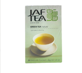 Jaf Tea Green Tea Natural Light Bodied and Refreshing