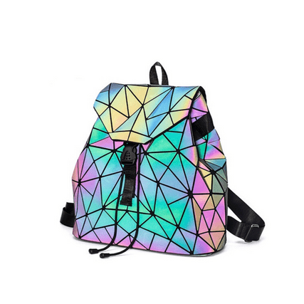 Rainbow Bag Pack | Reflective Luminous Bag