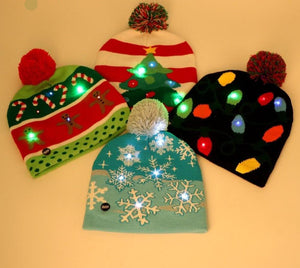 LED Knitted Beanies