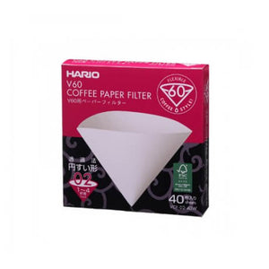 V60 Coffee Paper Filter (40 Pack)