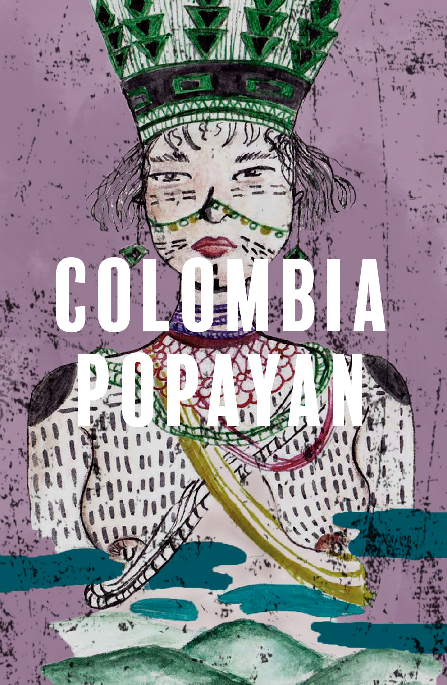 Colombia Popayan Washed - Espresso - 250g/1kg