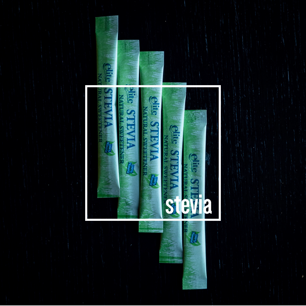 Stevia sugar sticks - 500 per box