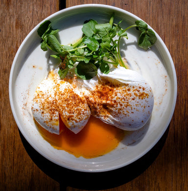 Add: Free Range Poached Egg