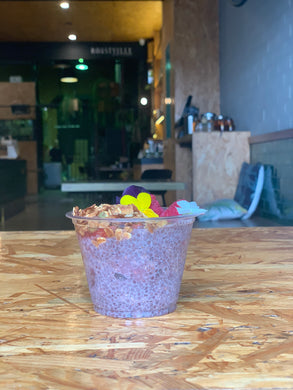 Smashed Berry Chia Cup
