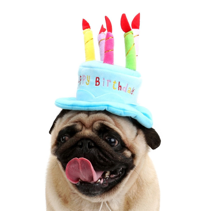 Load Image Into Gallery Viewer Birthday Hat For Small Medium Dogs