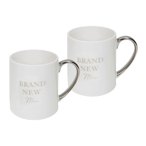Brand New Mrs & Mrs Mugs